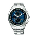 Citizen atessa watch AT8040-57L eco-drive radio clock ATTESA eco-drive light power radio wave clock brand new stock