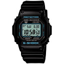 [Casio ]CASIO watch G-SHOCK black X blue GW-M5610BA-1JF 20,0 men watch new article order product]