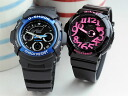 G-Shock pair watch AW-591-2AJF+BGA-130-1BJF gift