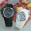 G-Shock and Baby G pair watch solar radio AWG-M100-1AJF-BGA-1020-7BJF gift [pair couple watch watch pair watch brand]