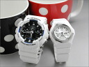 G shock baby G ホワイトペアウォッチ GA-100B-7AJF-BGA-100-7B gift pair watches couple watches brand &