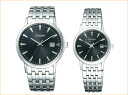Citizen Citizen round shape pair watch ecodrive (a solar) BM6770-51G-EW1580-50G