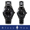 Swiss military pair watch (black / black) elegant black SWISS MILITARY ELEGANT BLACK ML132+ML133