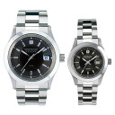 Swiss military pair watch (black) elegant premium SWISS MILITARY ELEGANT PREMIUM ML ML300+ML308 watch