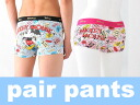 American comic Mickey Mouse ペアパンツ a couple pairs underwear both of our Boxer shorts bc3398sx-bc3399pk gift