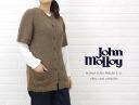 JOHN MOLLOY( John Molloy) ALPACA PLAIN RAGLAN S/SL CREW LONG CARDIGAN, NJM0693-0341102