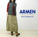 ARMEN( Amen) wool blend quilting reversible best, NAM9984W-0341202