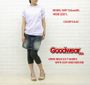 ☆ ☆ GOODWEAR (good are) CREW-NECK S/S T-SHIRTS WITH CUFF AND HEM RIB & NGT9801-0341101