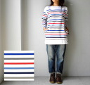 ORCIVAL( オーチバル オーシバル) RACHEL LADIES L/S BORDER TUNIC(MULTI), 6813BCB