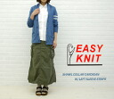 ☆☆EASY KNIT( easy knit) CARDIGAN W/LEFT SLEEVE STRIPED, NEK1101-0341101-WKNCSTY001