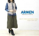 ARMEN( Amen) Liberty print reversible front snap-down best, NAM0856L-0341202 fs3gm