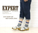 ☆☆EXPERT( expert) COW SHORT HAIR MESH SANDAL STRAP, NEP1103H-0341102 fs3gm