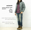 miusa( ミューザ) LIGHT WEIGHT JACKET WITH MATCHING POUCH, NMSU1156-0341102 fs3gm which falls