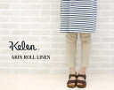 "Kelen( ケレン) cotton hemp underpants ""AKIN ROLL LINEN"", LKL10HPT25-1571101"