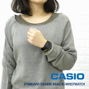Analog Womens watch CASIO (CASIO) resin belt square-MQ38-06912012