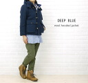 DEEP BLUE( Deep Blue) ウールカルゼ batting food jacket .73735-1,621,102