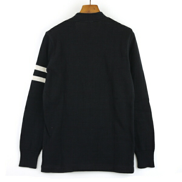 Detailed image of EASY KNIT( easy knit) CARDIGAN W/LEFT SLEEVE STRIPED, NEK1001