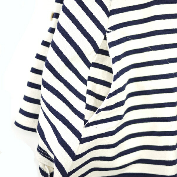 Detailed image of BCB comment * DINASTIE( ディナスティ) horizontal stripes zip improving cape .12070100723120