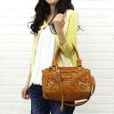 anyam nya robita (アニャムニャロビタ) mesh leather 2-WAY Boston bag (S) and an-145S-2621301