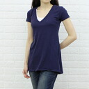 ALTERNATIVE( alternative) organic cotton short sleeves V neck A-line tunic, AA6060-2751301 fs3gm