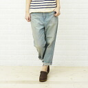 "caqu (サキュウ) cotton denim pants salad ""FS Salel Pants (10 years)"", 26003-50-2291301"