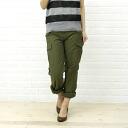 ■ ■ Domingo D.M.G コットンバックサテンカーゴ pants t 13-478-1271301