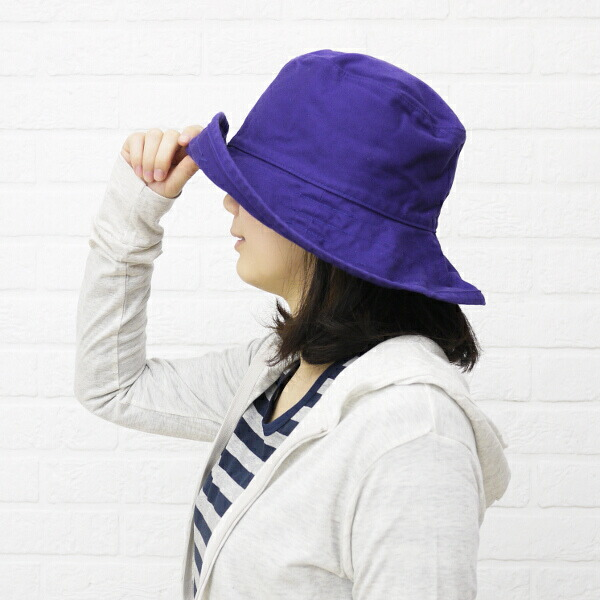 "Color image of HAT attack( hat attack) UV cut cotton hat ""Washed Cotton Crusher"", CYC809"