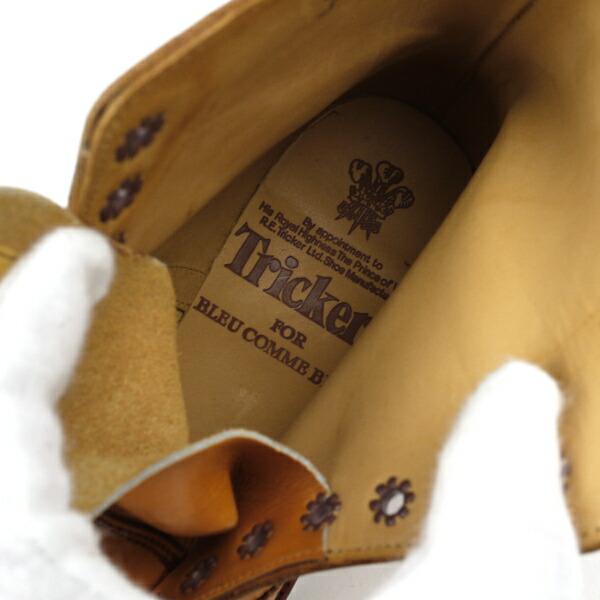 "BCB別注*Tricker's(トリッカーズ) レザー レースアップ ブーツ ""MALTON""・5180の詳細画像"