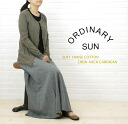 ORDINARY SUN( ordinary sun) cotton T-cloth long sleeves crew neck cardigan, BCCD-001-2721202