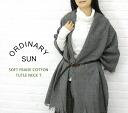 ORDINARY SUN(オーディナリー サン) コットン 天竺 長袖 タートルネック Tシャツ・BCT-007-2721202