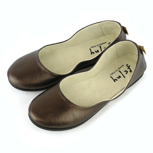 "Color image of fs/ny( F S slash N Y) leather ballet shoes ""SLOOP NAPPA"", SLOOP-NAPPA"