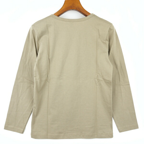 Fabrique en FRANCE(ファブリケ・アン・フランス) コットン 長袖 クルーネックTシャツ・NMF1251 の詳細画像