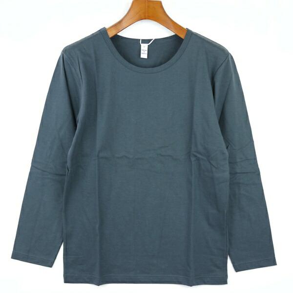 Fabrique en FRANCE(ファブリケ・アン・フランス) コットン 長袖 クルーネックTシャツ・NMF1251のカラー画像