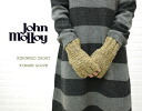 JOHN MOLLOY( John Molloy) wool fingerless knit gloves, NJM1082-0341202