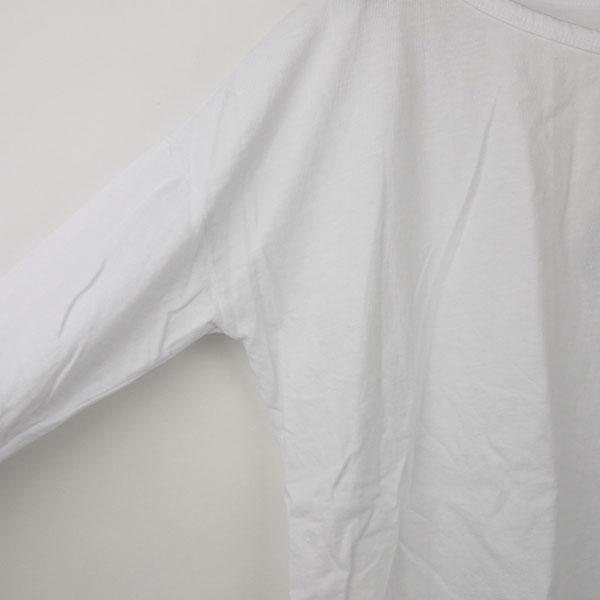 JAMES PERSE(ジェームスパース) コットン 長袖 ボートネック Tシャツ・16-03-25-03301の詳細画像