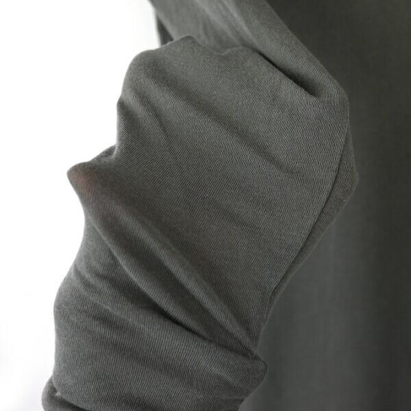 JAMES PERSE(ジェームスパース) コットン ポリウレタン 長袖 ラウンドネックTシャツ・16-03-26-03305の詳細画像