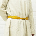 FEU D ' UN PHARE (フューダンファーレ) leather mesh belt (35 mm), F53124-08-0301301