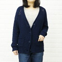 TRANNA( トラーナ) cotton long sleeves V neck knit cardigan .18-7585 -1,221,301