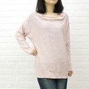 a koloni( colony) cotton linen high gauge long sleeves drape knit pullover .13116000-1,381,301