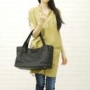 VIOLAd ' ORO (ヴィオラドーロ) leather mesh tote bag-V-3005-2781301