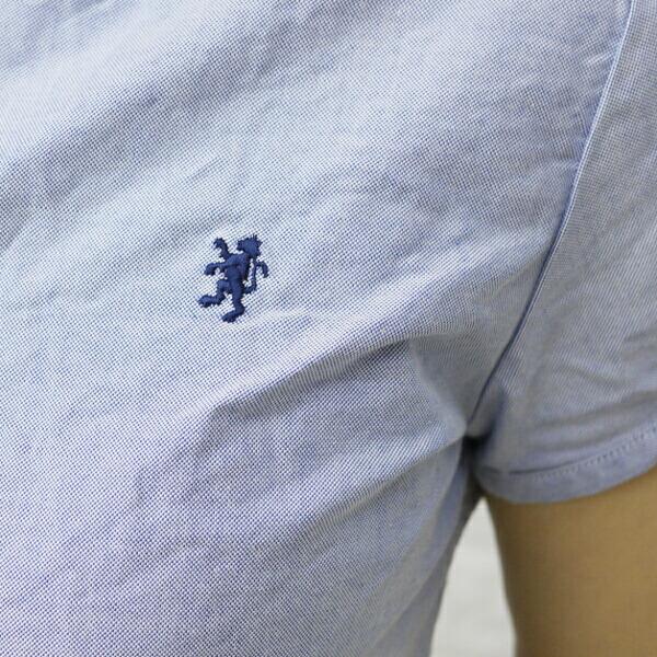ジムフレックス Gymphlex コットン オックスフォード パフスリーブ ボタンダウンシャツ・J-0645YOXの詳細画像