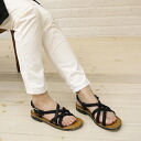 Broe &Co (blow & coffee) レザーストラップハンドメイド Sandals (STONEWASH)-001AS-0341301