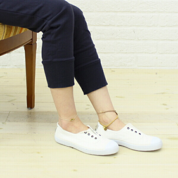 Color image of Victoria (Victoria) canvas slip-ons sneakers .6623