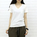 .5696-1,261,301 think natural( sink natural) コットンモダール short sleeves V neck T-shirt fs3gm