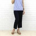 D.M.G(Domingo) cotton and linen cropped fatigue pants-x 15-299-1271301