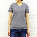 GOODWEAR( good wear) cotton polyester 杢半袖 V neck print T-shirt, NGW0801G-0341301 fs3gm
