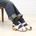 ☆ ☆ EXPERT (expert) leather cross strap Sabot Sandals-NEP0903