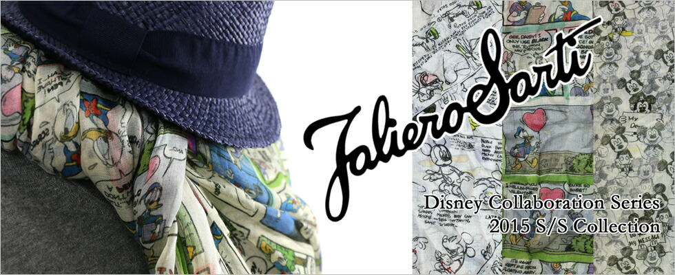 Faliero Sarti×Disney Collaboration