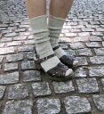 ".110-125 French Bull( French bulldog) linen shortstop socks ""Annie socks""-1851301 fs3gm"