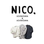 NICO,nicholson&nicholson(ニコ ニコルソン&ニコルソン)